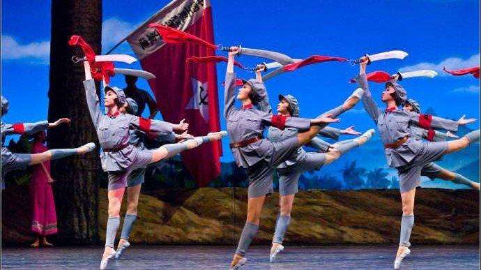 中国芭蕾舞发展史