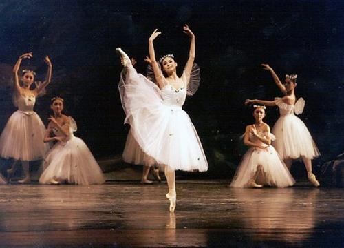 足尖上的舞蹈--芭蕾舞